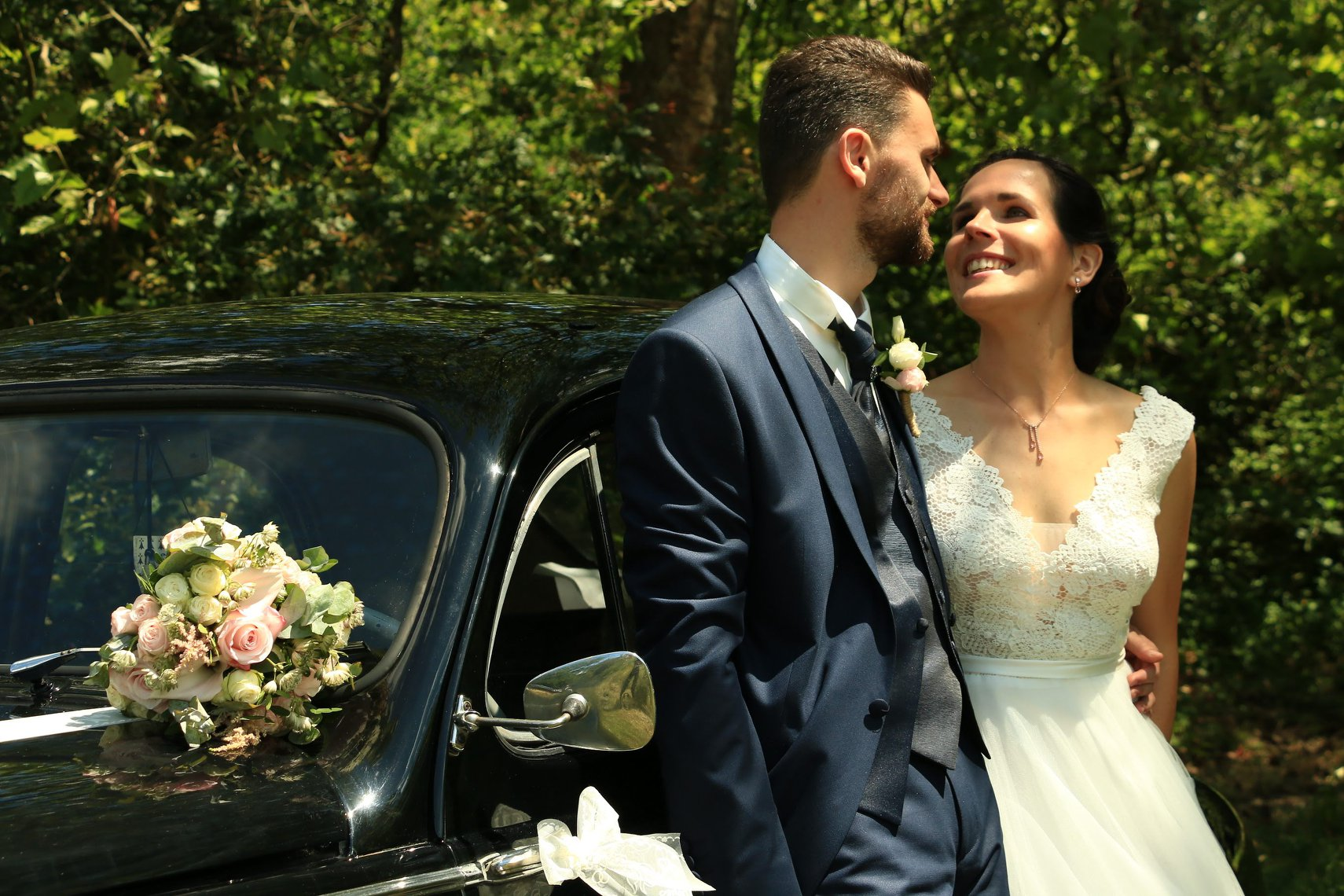 Photo de mariage prestation MademoisellA institut de beauté à Rezé Label qualité